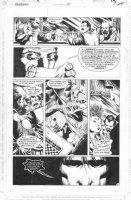 McMANUS, SHAWN - Sandman #31 pg 13 - Sandman & sister Delirium + Emperor Norton I of US & Mark Twain Comic Art