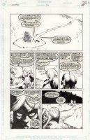 McMANUS, SHAWN - Sandman #36 pg, Cuckoo as young Barbie, Dodo face gals in Dream-Land Comic Art