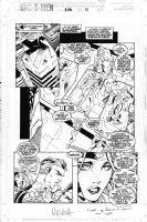 MADUREIRA, JOE - Uncanny X-Men #336 pg 11, Onslaught cross-over, FF Avengers Comic Art