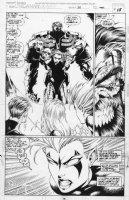 MADUREIRA, JOE - Uncanny X-Men #317 page 15, Harvest confronts X-men, including Blink Comic Art