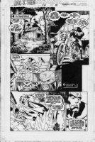 MADUREIRA, JOE - Uncanny X-Men #335 page 19, Wolverine and the Vision  Comic Art