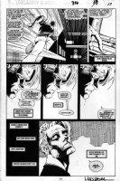 MADUREIRA, JOE / TERRY AUSTIN - Uncanny X-Men #316 pg 17, Banshee, Generation Next part 1 / 1st Monet St Croix storyline Comic Art