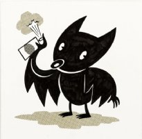 BRUNETTI, IVAN - Graffiti Bat  magazine illustration Comic Art