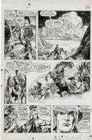 BUSCEMA, JOHN & ALFREDO ALCALA - Savage Sword of Conan #2 pg 29, Black Colossus; 1st artists teaming Comic Art