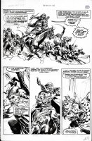 BUSCEMA, JOHN / ALCALA - Savage Sword Conan #28 pg 37 Comic Art
