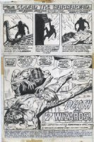 BUSCEMA, JOHN - Conan The Barbarian #33 pg 1 Splash, Conan being robbed, 1973 Comic Art