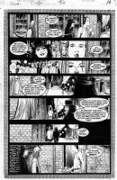 BACHALO, CHRIS - DEATH HCOL #2 pg 19, Death follows into alleyway Comic Art
