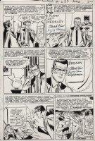 BORING, WAYNE - Superman (1939 1st series) #229 page 9, Superman, Clark Kent, Batman and the Bottle city of Kandor Comic Art