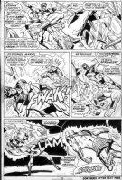 BORING, WAYNE - Captain Marvel #23 pg 23, need David Southerland 's email Comic Art