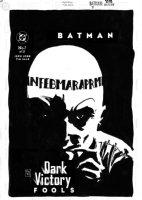 SALE, TIM - Batman Dark Victory #7 cover, Jeff and Tim are no  April Fools!  Fools  with the Calendar Man!  Comic Art