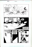 SALE, TIM - Solo #1 pg 4, Supergirl story, SG dating 2004 Comic Art
