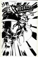 SALE, TIM - Superman Confidential #1 cover, written by Darwyn Cooke 2007 Comic Art