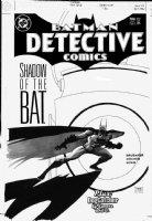SALE, TIM - Detective Comics #786 cover, Batman, Green Lantern's lamp Comic Art