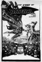 SALE, TIM - Batgirl #73 cover, death scene - Batgirl vs Lady Shiva Comic Art