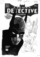 SALE, TIM - Detective Comics #785 cover, Batman, G.Age Green Lantern - Alan Scott Comic Art