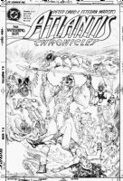MAROTO, ESTEBAN - Atlantis Chronicles #2 cover: alternate version in pencil Comic Art