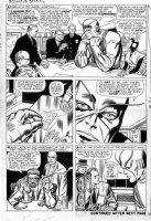 KIRBY, JACK - Tales To Astonish #51 large pg 10, Giant Man, Wasp plan with FBI - founding Avengers Comic Art