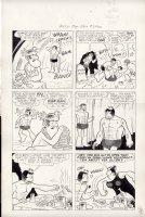 FOX, MATT ? - Alley Oop #1 large pg,  King For A Day  1962 Comic Art