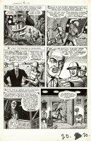 FOX, MATT / LARRY LIEBER - Journey Into Mystery #93 2up 3, Sci Fi story, mining a futuristic shelter Comic Art