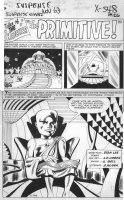 LIEBER, LARRY - Tales To Astonish #51 pg 1 splash, Tales of the Watcher Comic Art