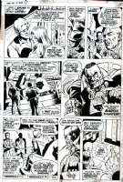 PERLIN, DON - Werewolf By Night #17 pg 7, Jack Russell & Baron Thunder Comic Art