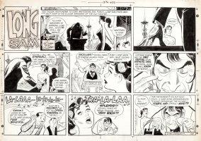 LUBBERS, BOB - Long Sam Sunday 3/15 1969, the Hillbilly Heroine & Svengali Comic Art
