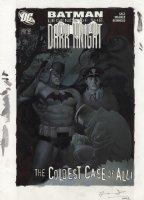 OLIVETTI, ARIEL - Batman Legends of the Dark Knight #202, Batman hunts for the Gotham Ripper!  Comic Art