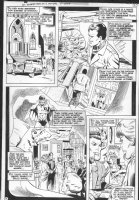 STATON, JOE - DC Superstar #17 pg 3, solo Huntress story, Robin, origin, wedding Comic Art
