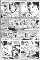 STATON, JOE - DC Super-Star #17 pg 4, solo Huntress story, Catwoman blackmailed Comic Art