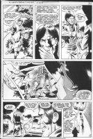 STATON, JOE - DC Super-Star #17 pg 5, solo Huntress story, Catwoman blackmailed Comic Art