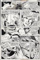 STATON, JOE - Batman Family #19 page 8,  early Huntress story Comic Art