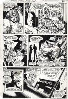 STATON, JOE - Wonder Woman #295 pg 4, JSA artists, Huntress in back-up series Comic Art