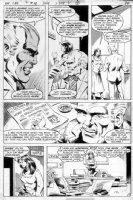 STATON, JOE - Batman Family #18 pg,  Huntress page 3- her 1st series Comic Art