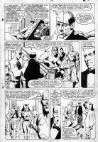 BAKER, KYLE - Avengers #280 page 8, origin of the Avengers flashback Comic Art