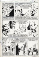 BAKER, KYLE - Avengers #280 page 18, origin of the Avengers retold Comic Art