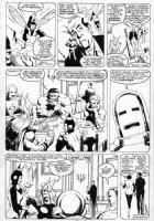 BAKER, KYLE - Avengers #280 page 6 Comic Art