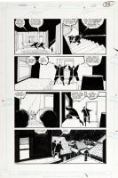 BAKER, KYLE - The Shadow #15 pg 22, Shadow's sons lose his body Comic Art