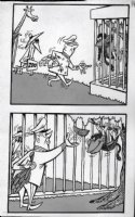PROHIAS - Mad Spy vs Spy 1970 book pg 148 zoo Comic Art