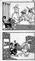 PROHIAS - Mad Spy vs Spy 1970 book pg 153 monkey Comic Art