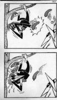 PROHIAS - Mad Spy vs Spy 1970 book pg 161 caught bananas Comic Art