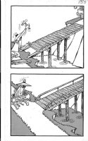PROHIAS - Mad Spy vs Spy 1970 book pg 133, White Spy detour Comic Art