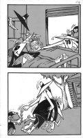PROHIAS - Mad Spy vs Spy 1970 book pg 154, White Spy with Monkey drugs Black Spy Comic Art
