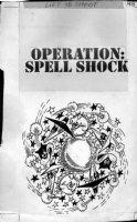 PROHIAS - Mad Spy vs Spy 1970 book Title page, Black & While Spys with pets Comic Art