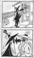 PROHIAS - Mad Spy vs Spy 1970 book pg 50, Spys, dog Comic Art