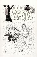 WAGNER, MATT - Mage, The Hero Defined #11 cover, Image series - team in snow  Comic Art