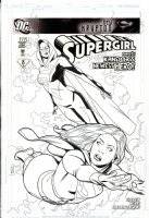 SPROUSE, CHRIS / KARL STORY - Supergirl #36 cover, Supergirl meets New Superwoman / Lucy Lane Comic Art