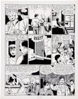 HERNANDEZ, JAIME - Love & Rockets #8 page Comic Art