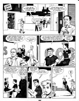 HERNANDEZ, JAIME - Love & Rockets #? early pg 5, Maggie & MECHANICS Comic Art