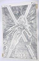 O'NEILL, KEVIN - Omega Men Annual #2 larger size Splash - Primus Comic Art