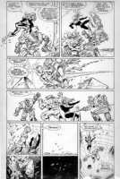 O'NEILL, KEVIN - Omega Men #24 pg 11, larger size art  Comic Art